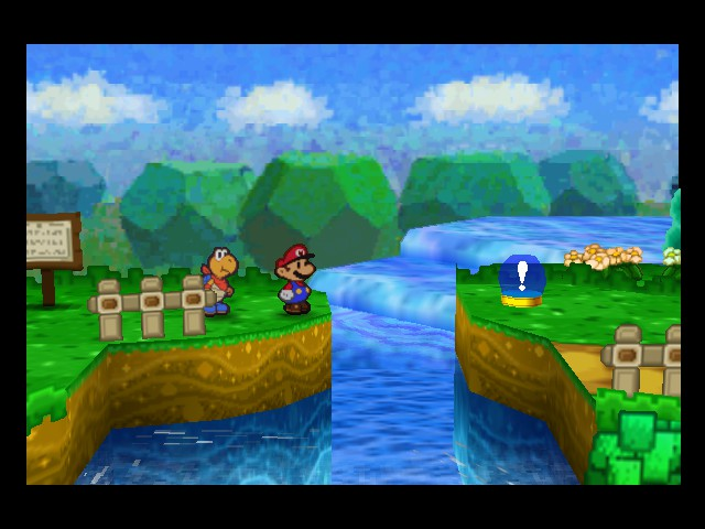 Paper Mario - Level  - This could be a problem. - User Screenshot
